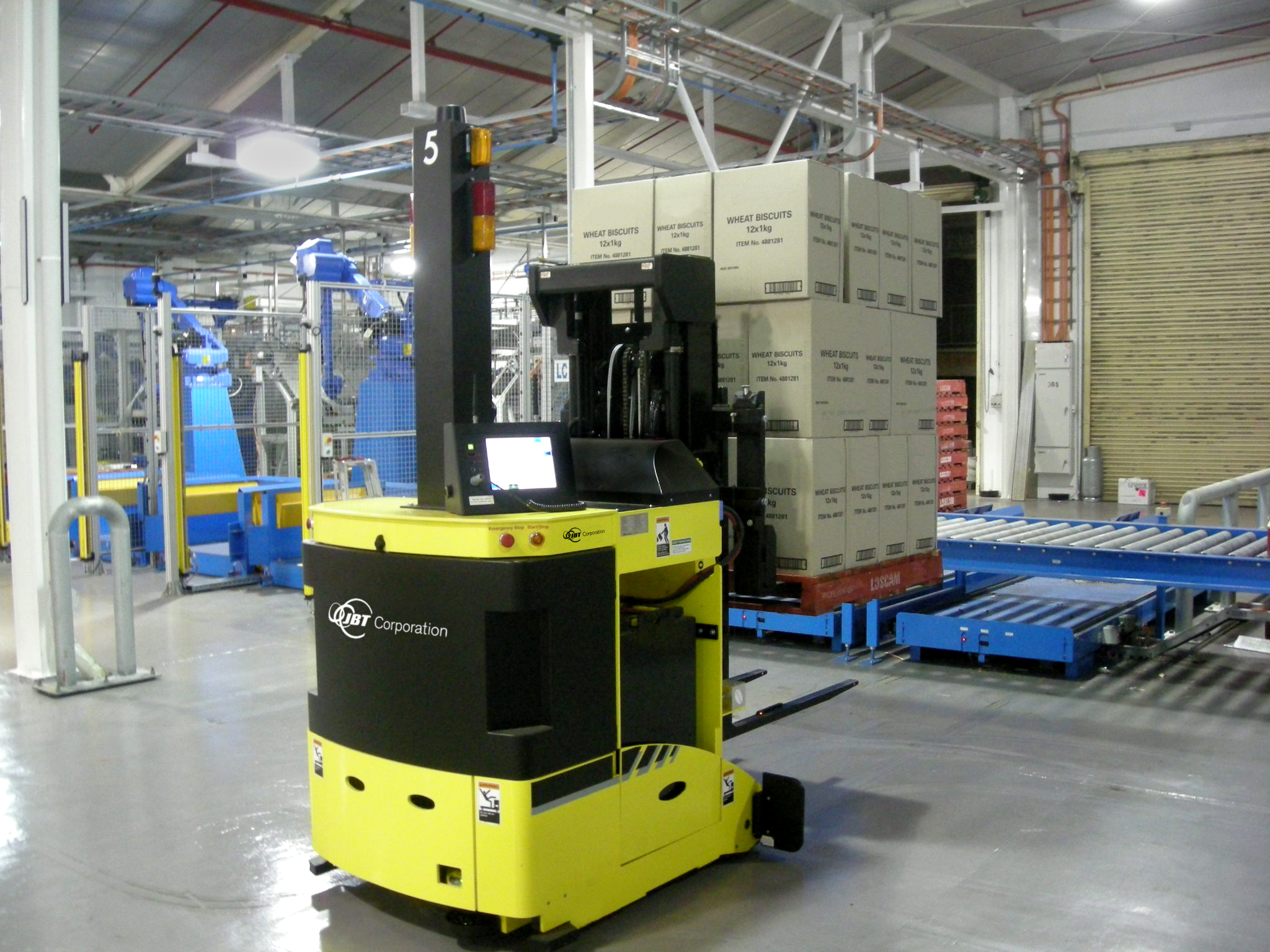 Warehouse Automation with Guided Vehicles