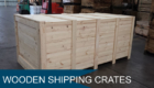 Wooden Shipping Crates Melbourne