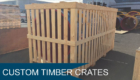 Custom Timber Crates Melbourne