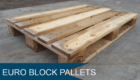 Wooden Euro Block Pallets