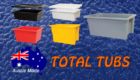 Total Tubs - Plastic Tub Supplies