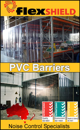 PVC Barriers by Noise Control Specialists, FlexShield